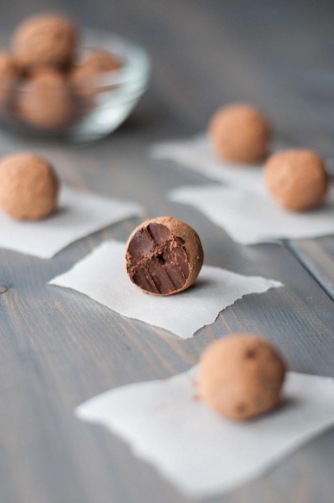 Spicy truffle bite