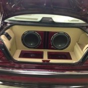 BMW with JL Audio