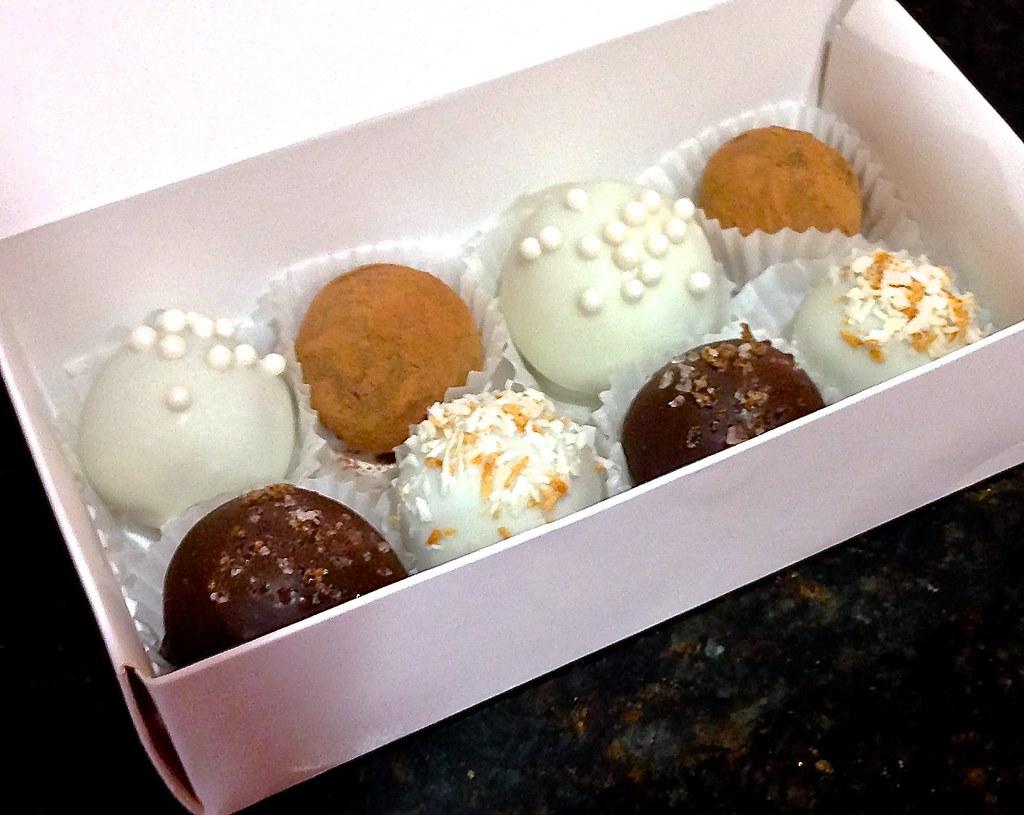 Chocolate truffles 3 ways