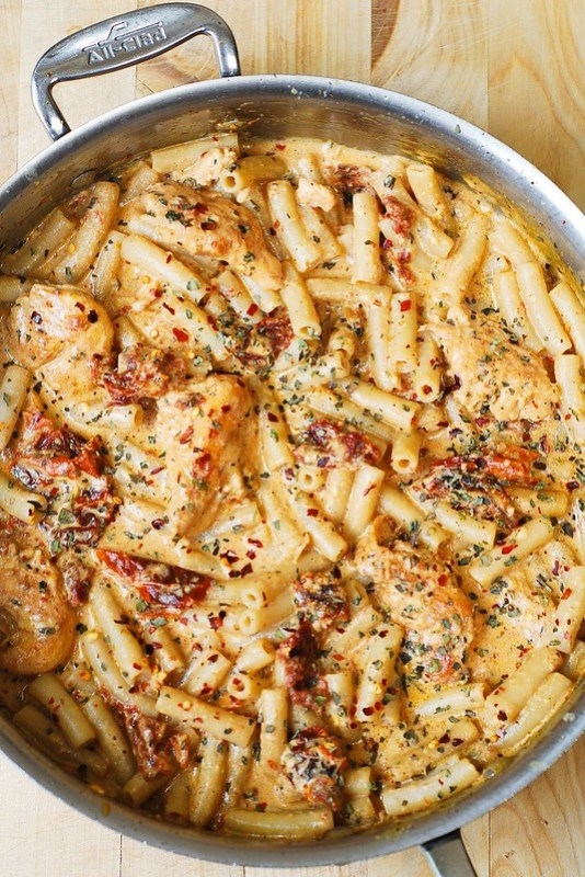 crema de pollo, pollo mozzarella, receta de pasta de pollo, cena ideas de pasta de pollo