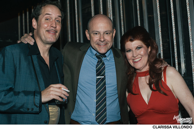 Backstage, The Lampshades + Rob Corddry