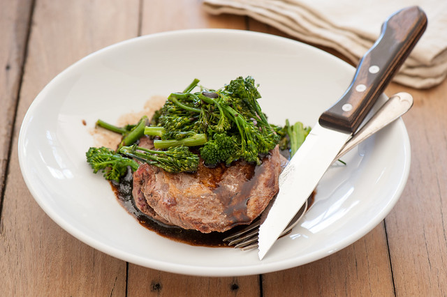 salt & vinegar steaks
