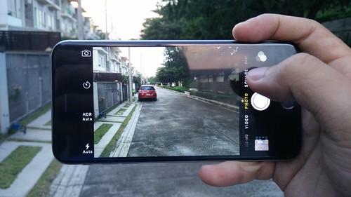 User Interface กล้องของ iPhone 6 Plus