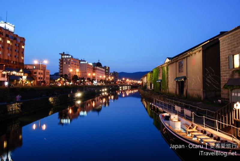 《小樽景点推荐》北海道小樽散策游:北一硝子馆、小樽运河