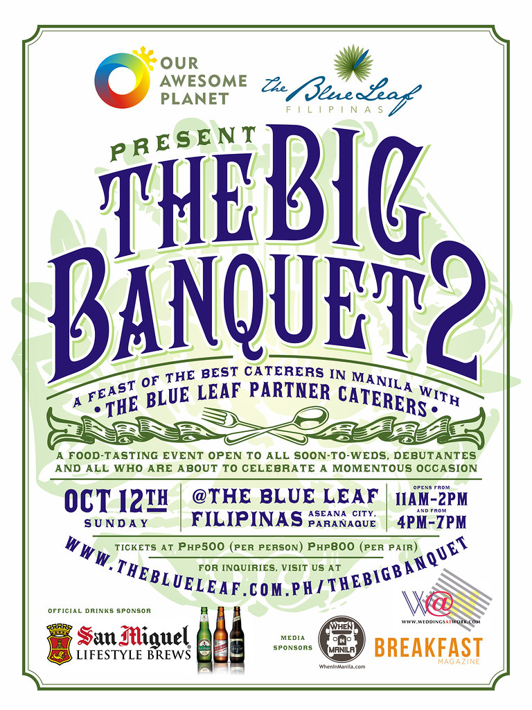 The Big Banquet poster revised
