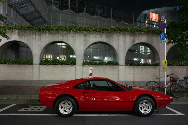 FERRARI 308GTB SIDE VIEW 2014/10/09 GR140180