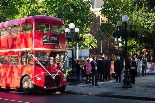 Double Decker London Wedding