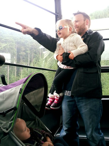 Enjoying Grouse Mountain with Toddlers