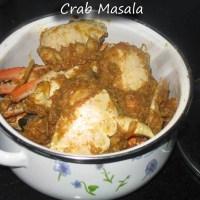 Crab-masala