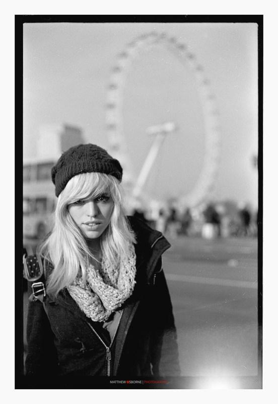 Voigtlander Bessa B&W Film Portrait