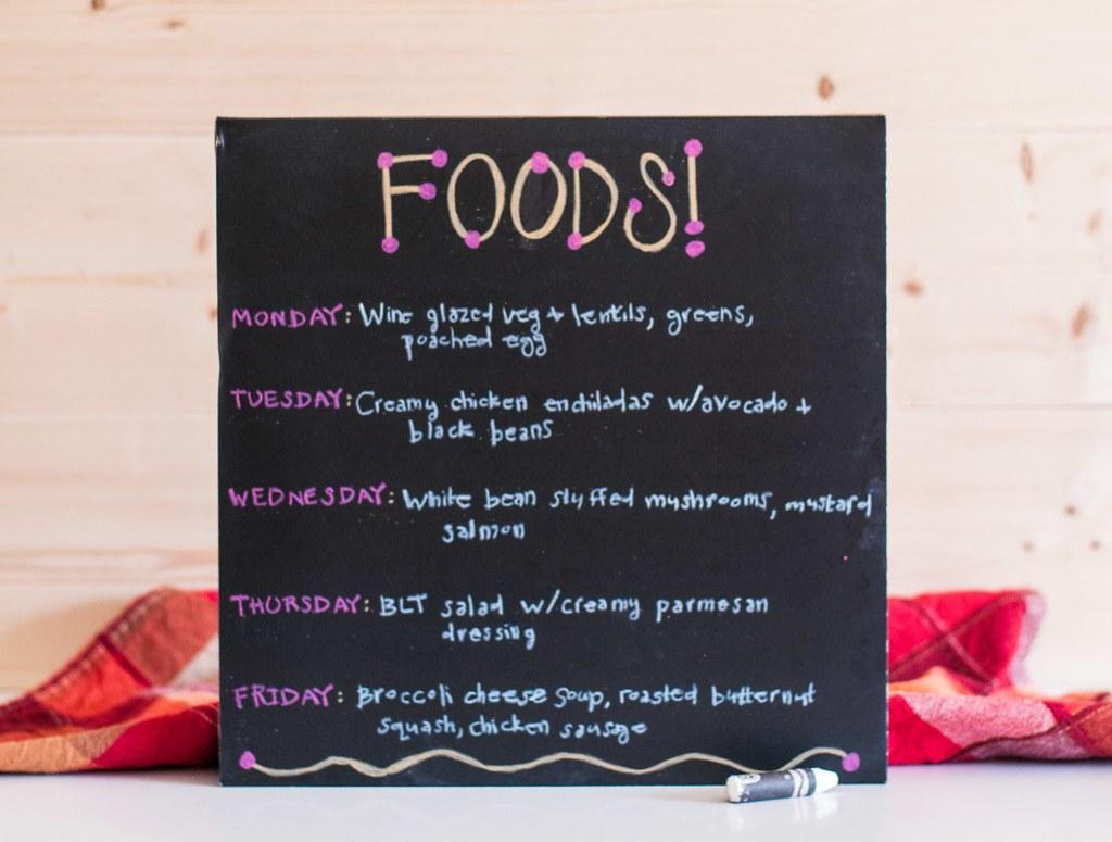 What's for Dinner? Sept. 29