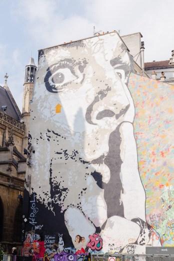 Graffiti at Centre Pompido