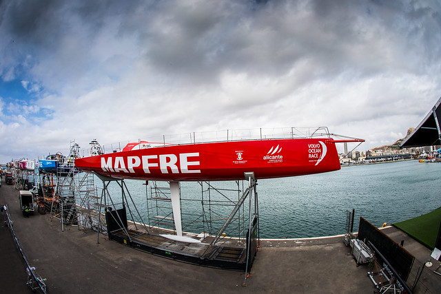 MAPFRE, IN THE VOLVO OCEAN RACE