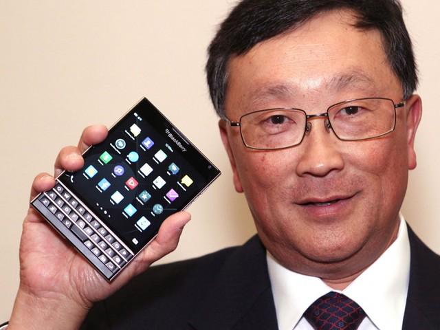 John Chen BlackBerry Passport