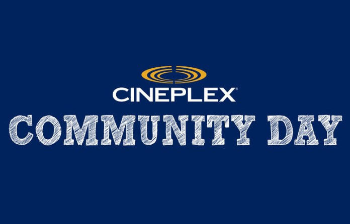 Cineplex Community Day 2016: Free Movies for Everyone!