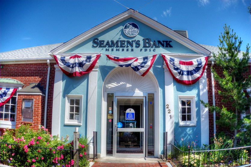 Seamens Bank, Provincetown, MA.