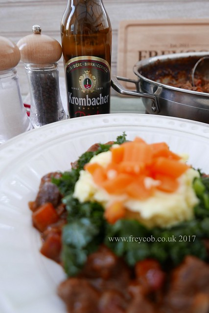 Beef Shin in Kromacher Beer