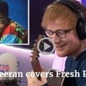 Watch Ed Sheeran sing Fresh Prince theme tune here, Simply amazing!
