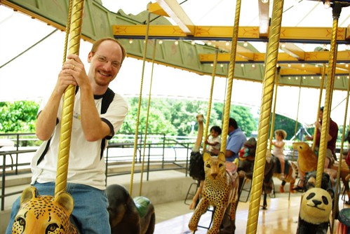 John on the Carousel