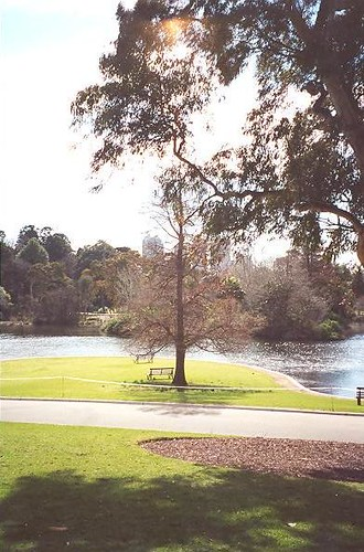 The Royal Botanic Gardens, Melbourne