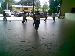 Lundu dancers