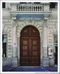 Roman Door by Jim Charles Photography