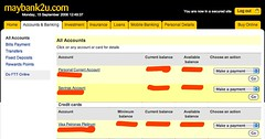Maybank2u.com Online Financial Services