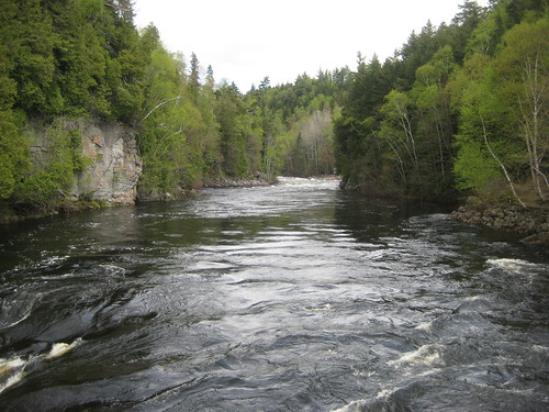 Ste Anne river, upstream