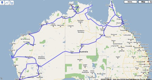 Planned Route -  Version A