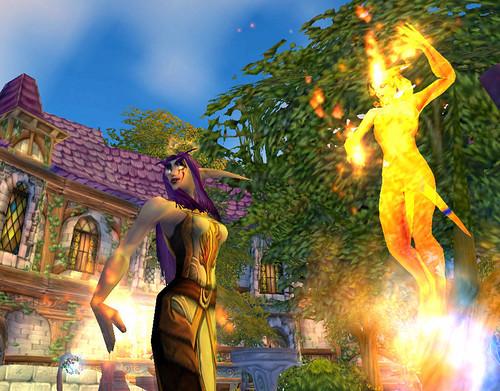 Dancing flames!