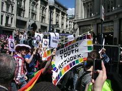 Queer Youth Network, London Pride 2008.