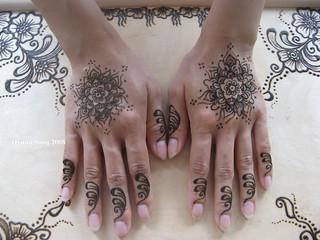 Henna on Kim