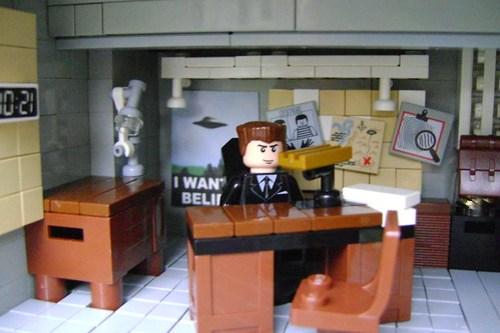 LEGO Fox Mulder