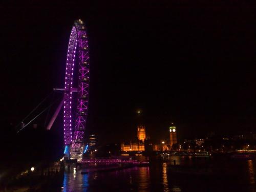 The London Eye and Big Ben