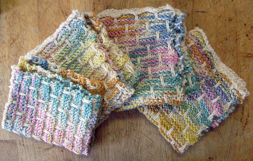 Peaches & Creme Ballband Dishcloth by you.