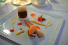 Textures of Carrot Cake