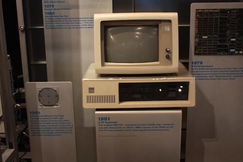 1981 Intel CPU IBM PC
