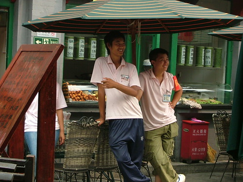 Food Market workers