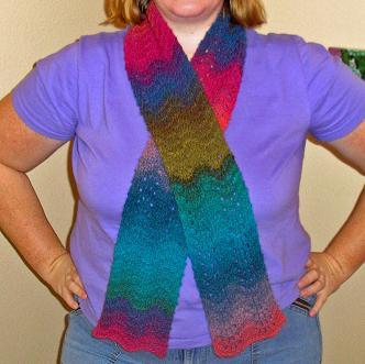 Ravelympics scarf (4)