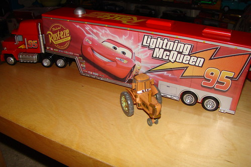 Disney Store HUGE Mack Hauler