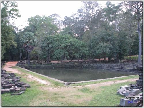 Baphuon - Pond beside Pavilion