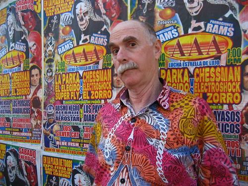 Howard in Oaxaca by Johnny Shoepainter.