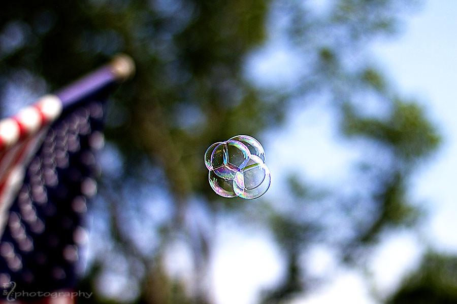 Cluster bubbles