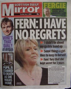 DAILY MIRROR - Cover