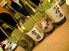 日本酒を楽しむ会1@海風土屋 通