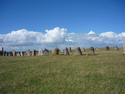 Ale's stones on the south coast