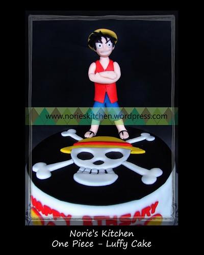 Norie's Kitchen - One Piece - Luffy Cake