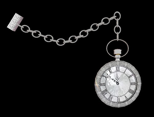 Lord Heathcliff Pocket Watch - Silver Edition