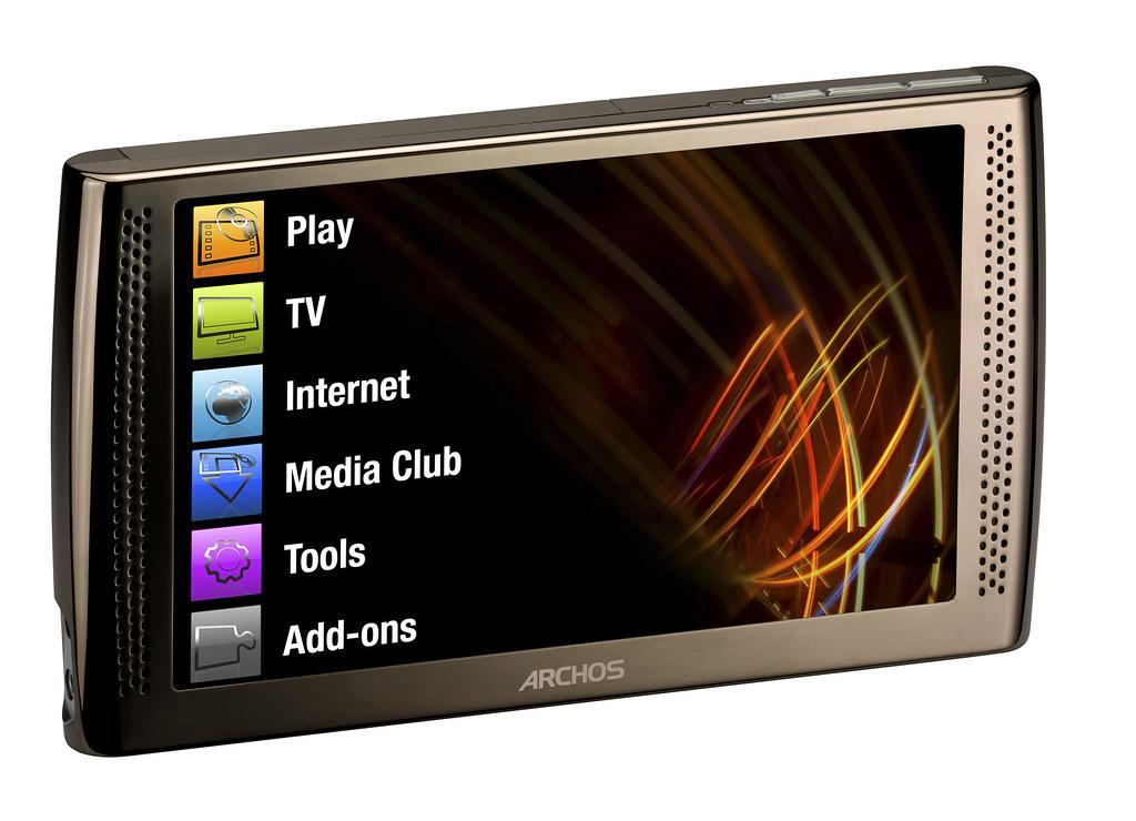 Lovely New Archos Internet Media Tablet