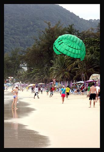 Our room and beach on Phuket, Thailand 9/08
